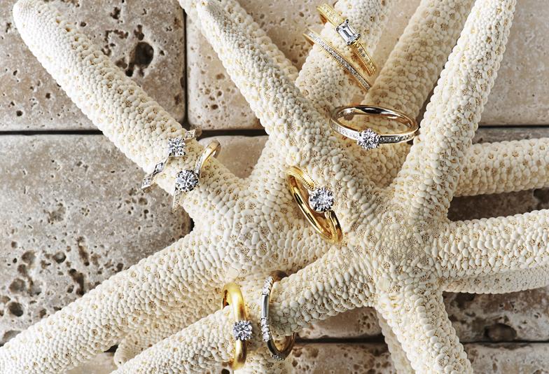 【静岡市】今、婚約指輪はゴールドが人気💍