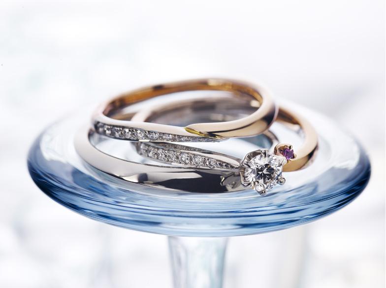 【静岡市】女性が大好きなカクテル♡甘い名前の付けられた結婚指輪♪