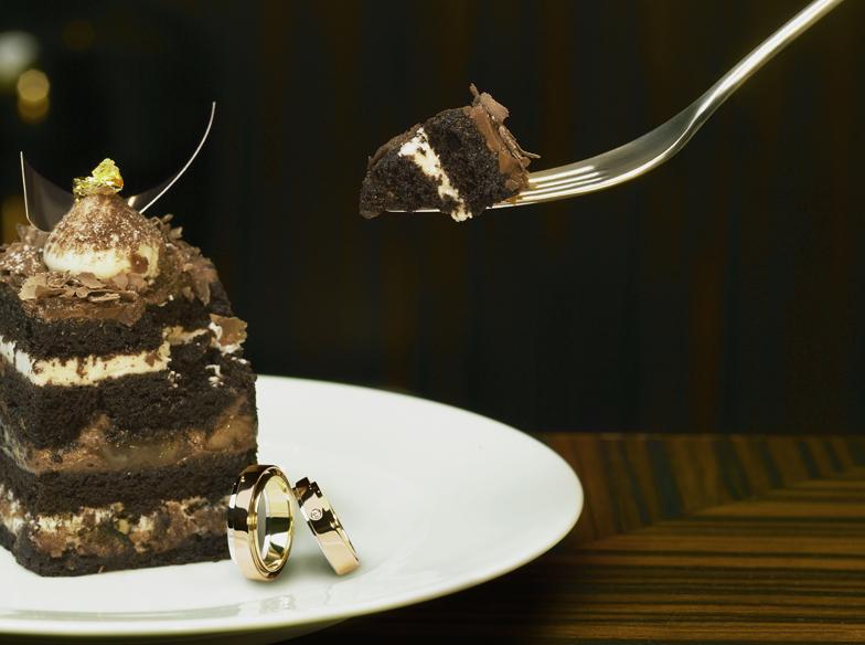 太めリングが好き♡存在感抜群な結婚指輪【Desserts】