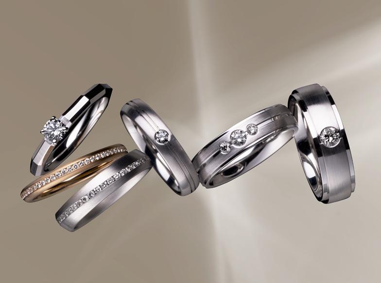 【Euro Wedding Band】宝飾の国ドイツが生んだ高品質ブライダルリング