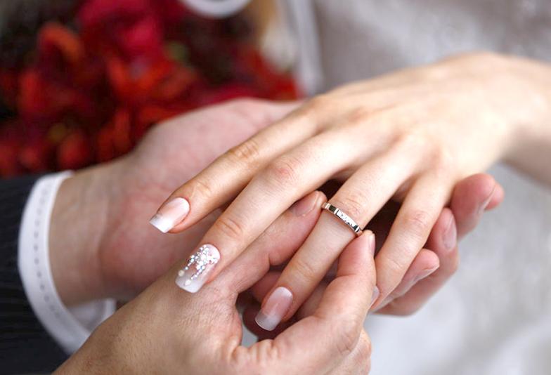 浜松市 安いけど品質が良い結婚指輪 2本…