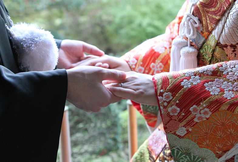 【静岡市・浜松市】和テイストなデザイン🌸婚約指輪と結婚指輪 ✨
