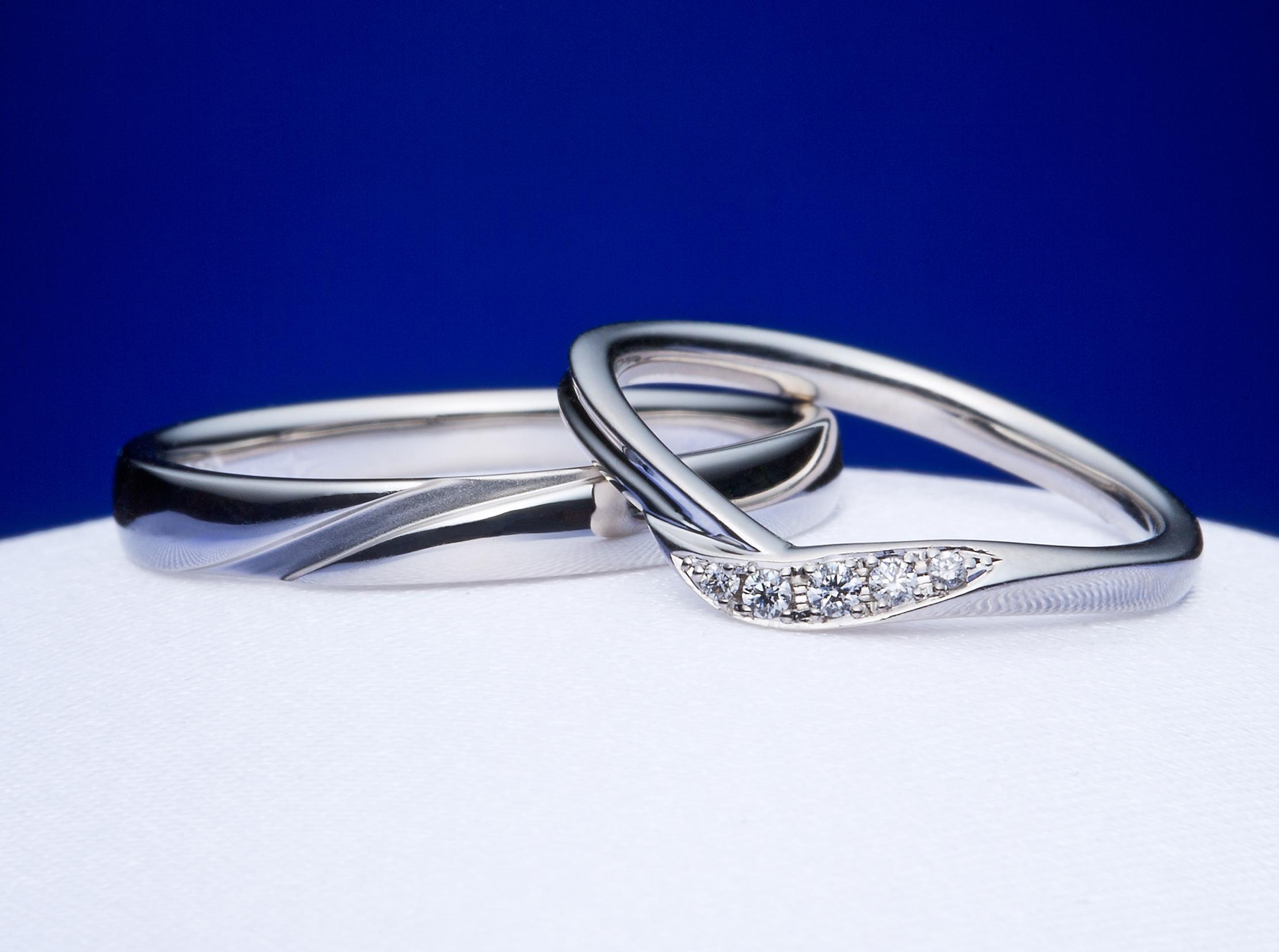 結婚指輪の好みが彼と合わなくても大丈夫!それぞれの好みでペア感を出せるマリッジリングがある♡【沼津市】