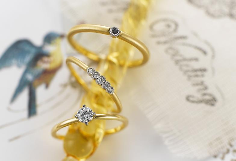 イエローゴールドの結婚指輪が人気急上昇♡…