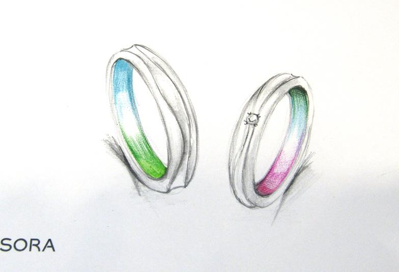 静岡市で1番個性的!みんなとは違う結婚指輪ならSORAを選ぼう♡アレルギーフリーでハッピーな新婚生活を♪