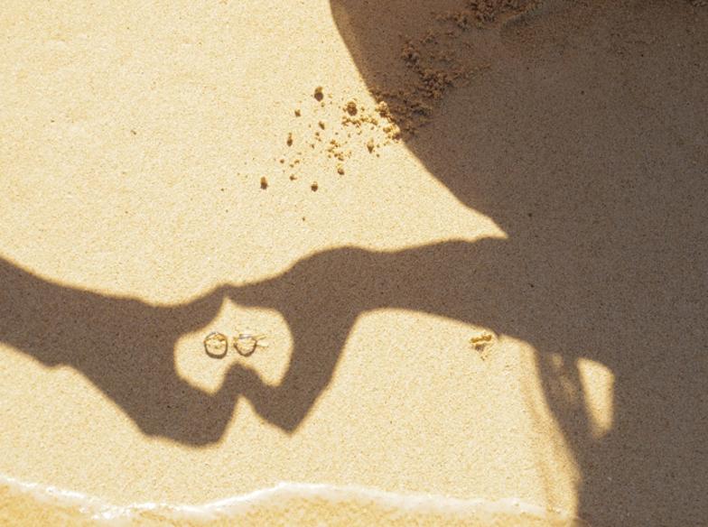 砂浜リング