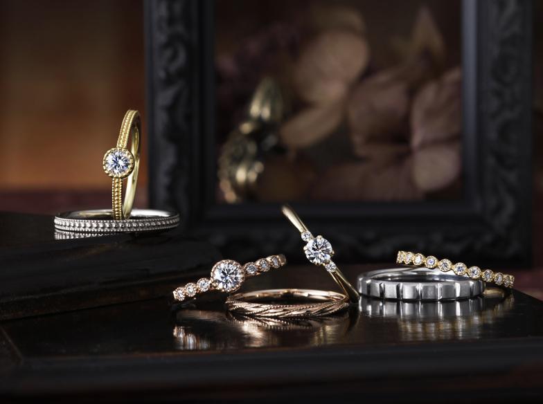 ♡静岡で見つける✨アンティーク&クラシカル結婚指輪♡