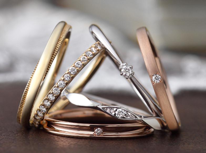 静岡市でペアリングも結婚指輪もお任せ♪豊富な素材と幅広い価格帯が魅力的なブランド♪【静岡市・藤枝市・島田市・浜松市】