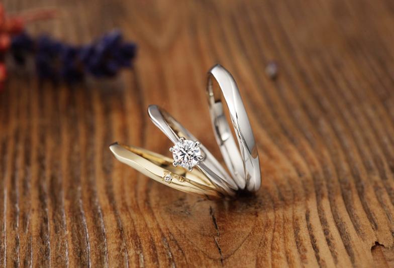 """【浜松市】シンプルで飽きのこないデザイン """"自分らしさを表現できる""""人気の結婚指輪&婚約指輪"""