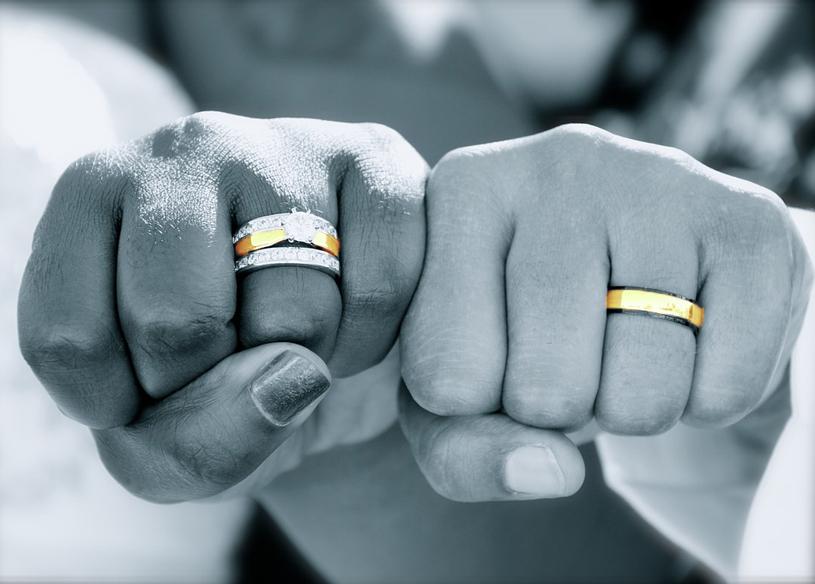 静岡市のプレ花嫁は結婚指輪もオシャレ♡ゴールドマリッジリングで差をつけちゃお!