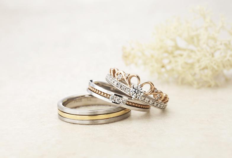 浜松結婚指輪選びに最適【女の子のタイプ別人気結婚指輪ランキング】ロマンチックスイートタイプ BEST5