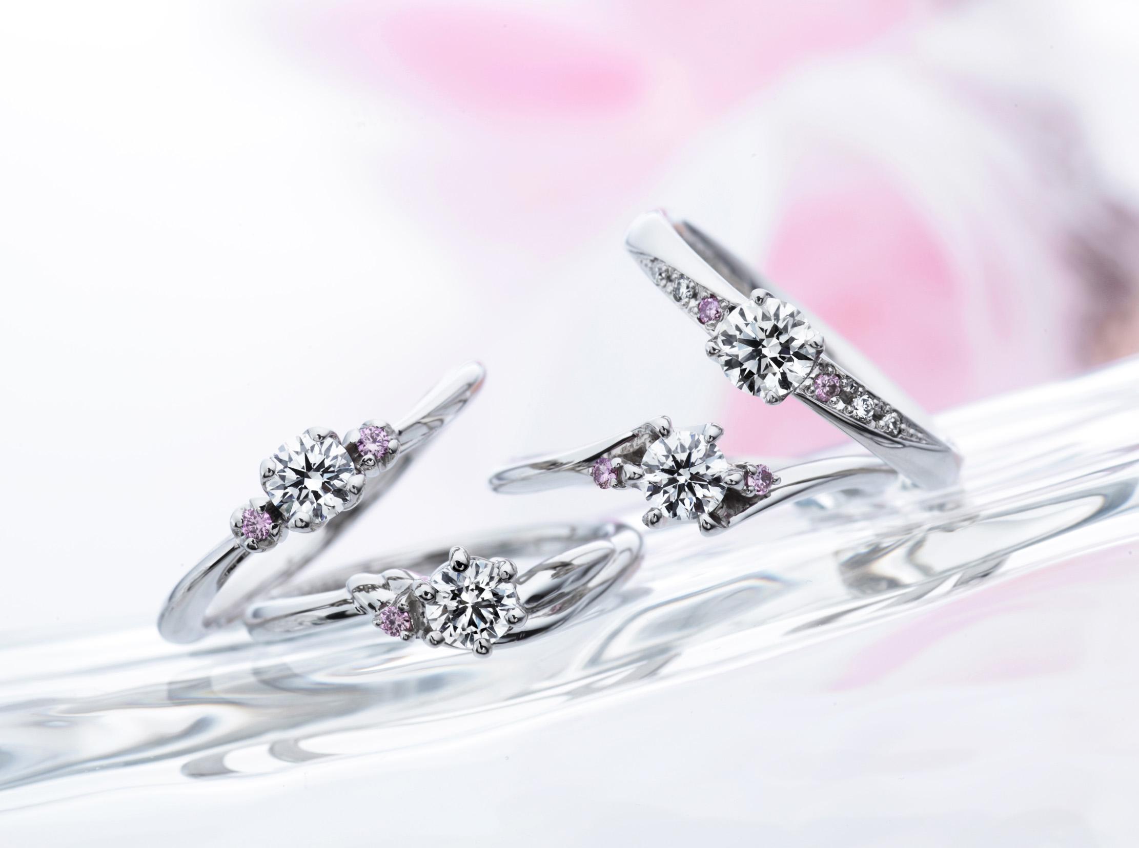 結婚指輪はいつ買うの?憧れのピンクダイヤモンドの婚約指輪もこの季節にゲットしよう!【静岡市】