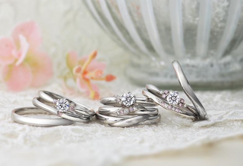 【静岡市】婚約指輪や結婚指輪にピンクダイヤモンドで『永遠の愛』を誓う♡