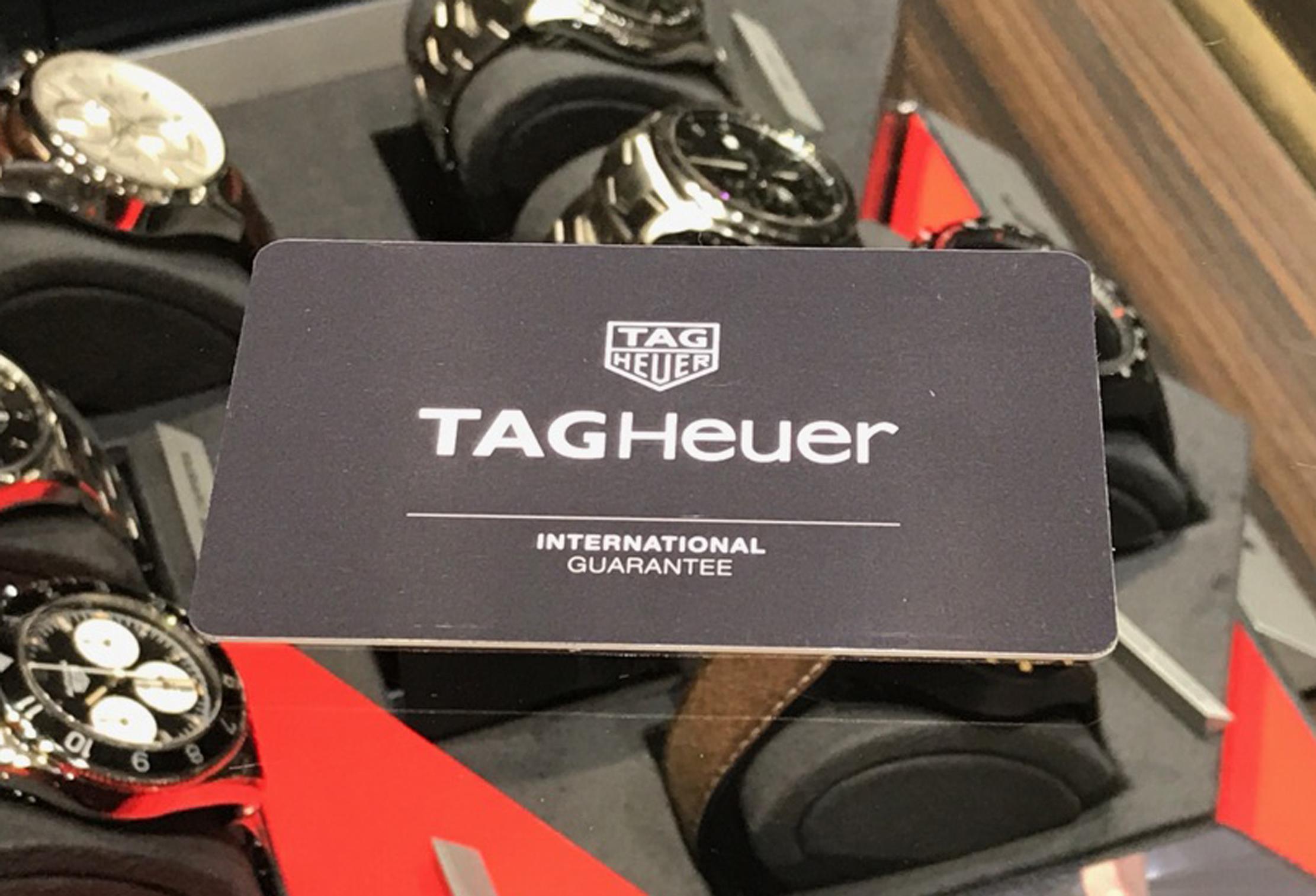 【静岡・富士・富士宮】TAGHeuer タグホイヤー保証(アフターサービス)