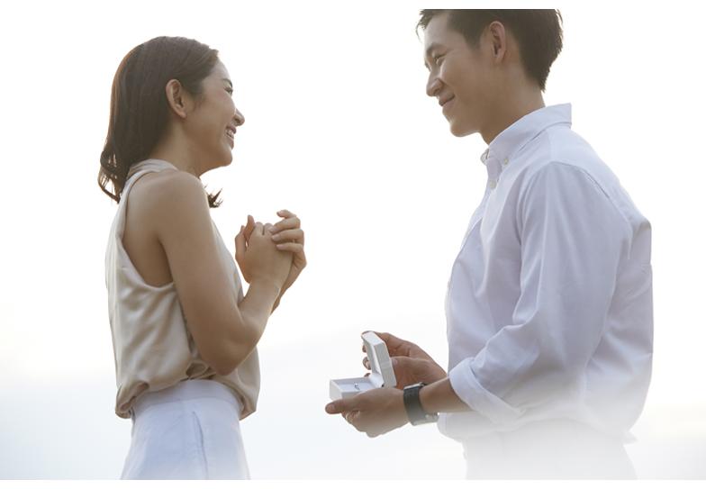 【静岡市】絶対成功させたいプロポーズ!婚約指輪を渡すベストタイミングっていつなの?