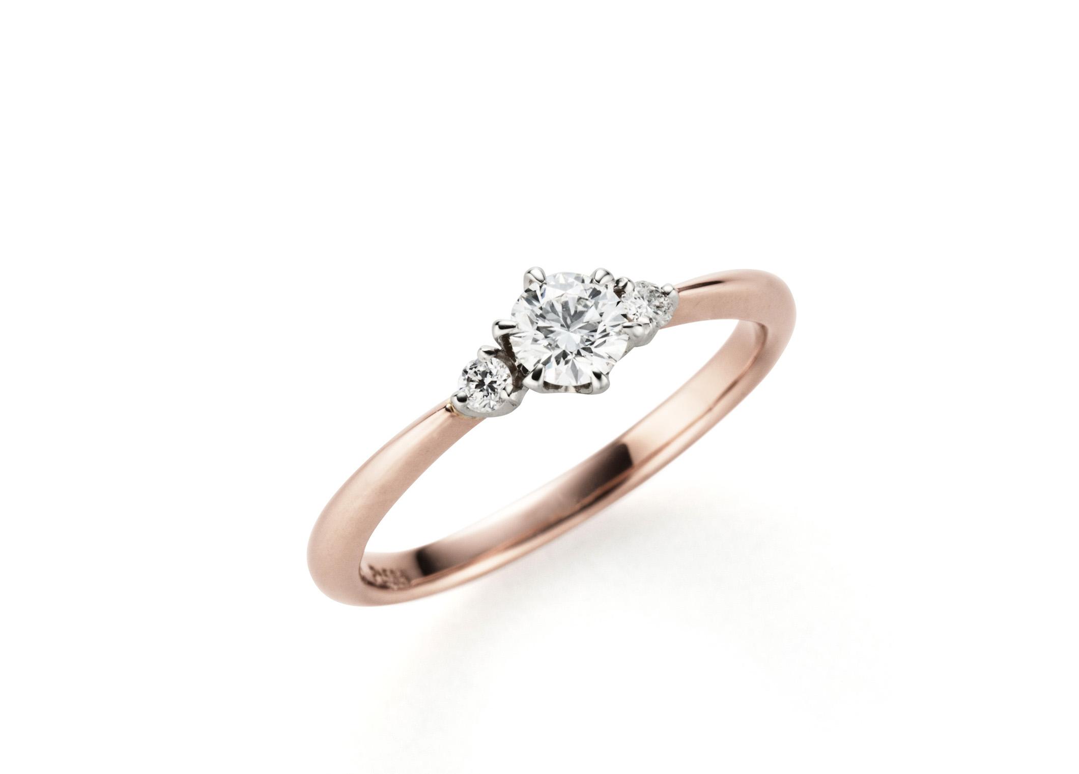 【静岡市】キュートなイメージ♡婚約指輪の人気デザイン