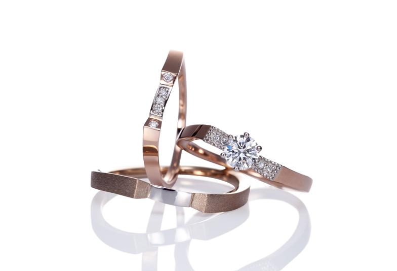 「浜松で結婚指輪を探しています」 おしゃれで変わったデザインの結婚指輪・個性的な結婚指輪はどこで買えますか?