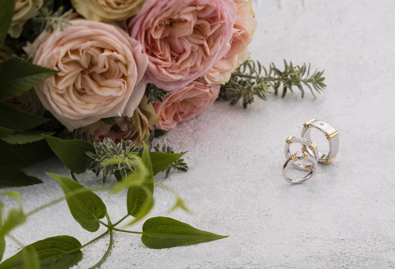 【静岡】ダブルスタンダードクロージングの結婚指輪がオシャレで話題!