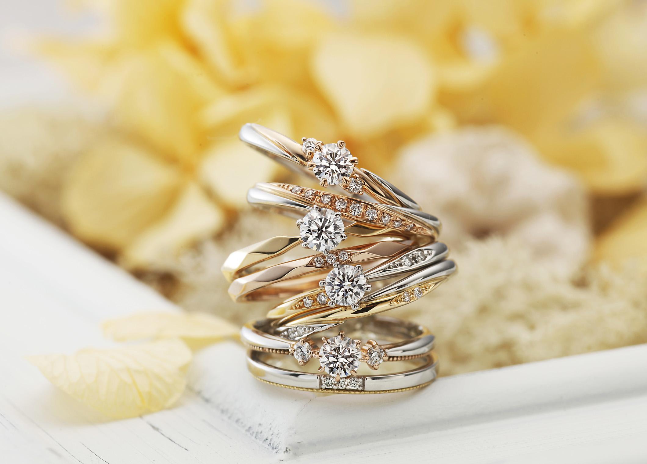 【静岡市】プロポーズに贈りたい♥愛のおまもり『AMOUR AMULET』アミュールアミュレットの婚約指輪