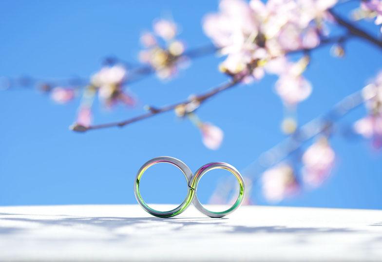 【富士市】金属アレルギーの方が選ぶ結婚指輪はアレルギーフリー素材『ジルコニウム』を使ったSORAのリング