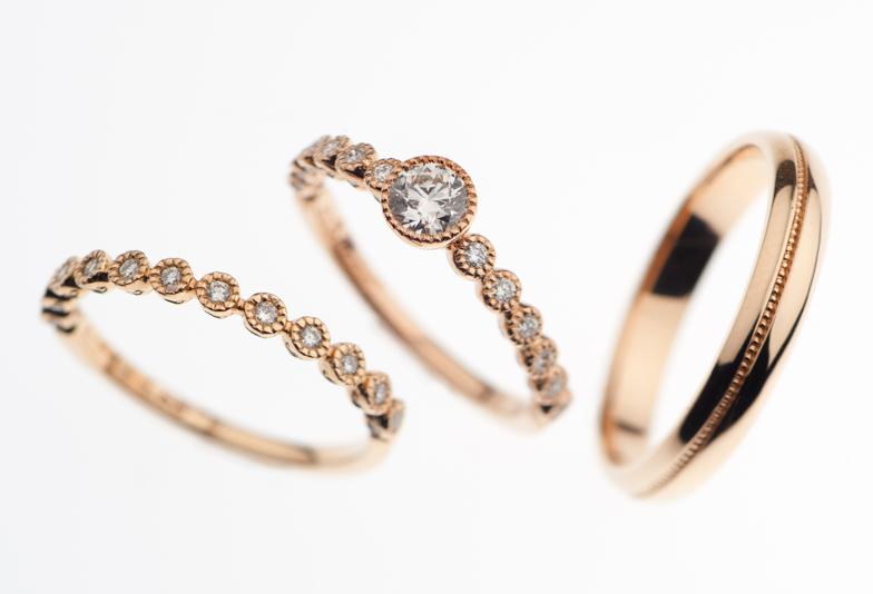 【静岡市】アンティークが可愛い♪結婚指輪もオシャレに♡