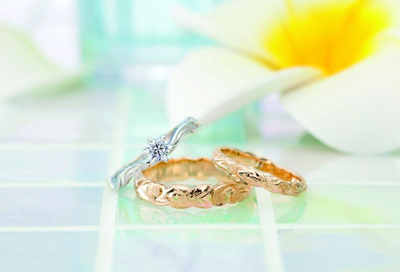 今、静岡市ではハワイアンジュエリーの結婚指輪がアツい!オシャレな結婚指輪を選ぶならprivatebeachで決まり♪