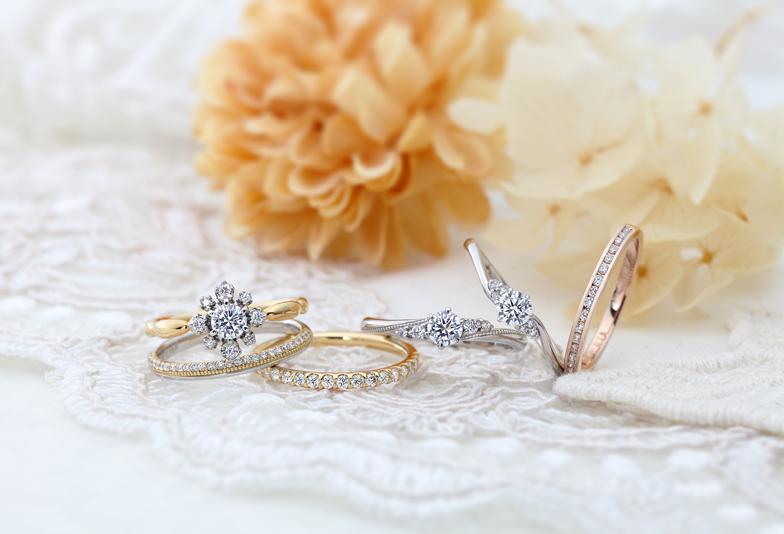 【浜松】女性に人気のデザイン!VIVAGEの恋物語が詰まった結婚指輪