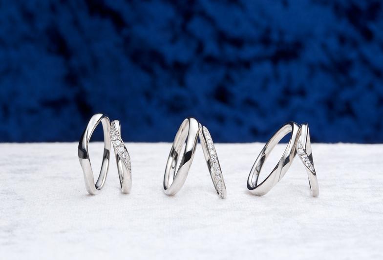 最上級のダイヤモンドをあしらったモルゲンレーテの婚約指輪【浜松】