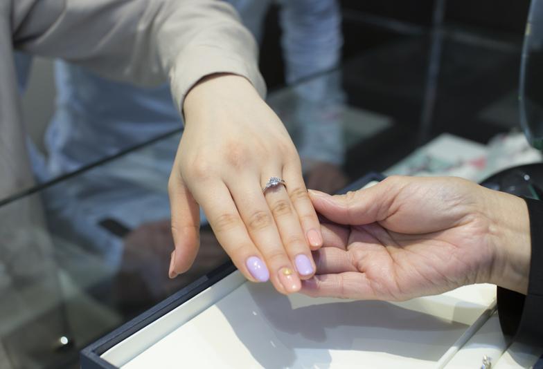 指輪をつける位置でなりたい自分に|つける指によって意味がある♪