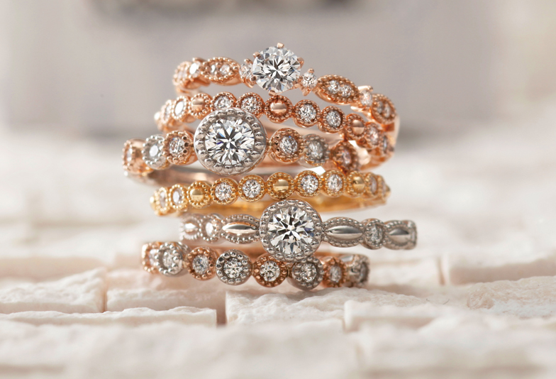 大阪AMOUR AMULETの結婚指輪婚約指輪