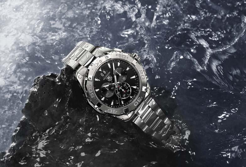 水を恐れない活動的な男性が選ぶ時計 タグ・ホイヤーアクアレーサー 静岡タグホイヤー正規取扱販売店 セレクトジュエリーショップLUCIR-K