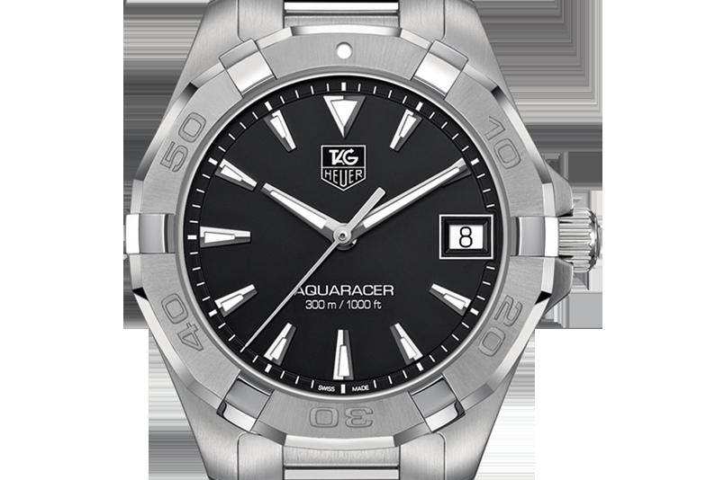 スタイルを大切にする、活動的な男性が選ぶ時計 タグ・ホイヤー アクアレーサー