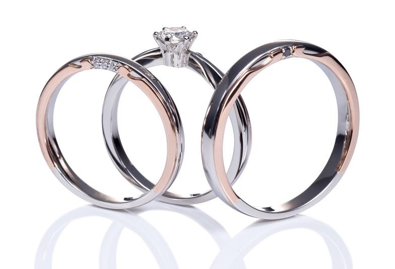 沼津からもお探しになられている方多数!キャラティボーチェの個性的な婚約(エンゲージ)、結婚(マリッジ)指輪。