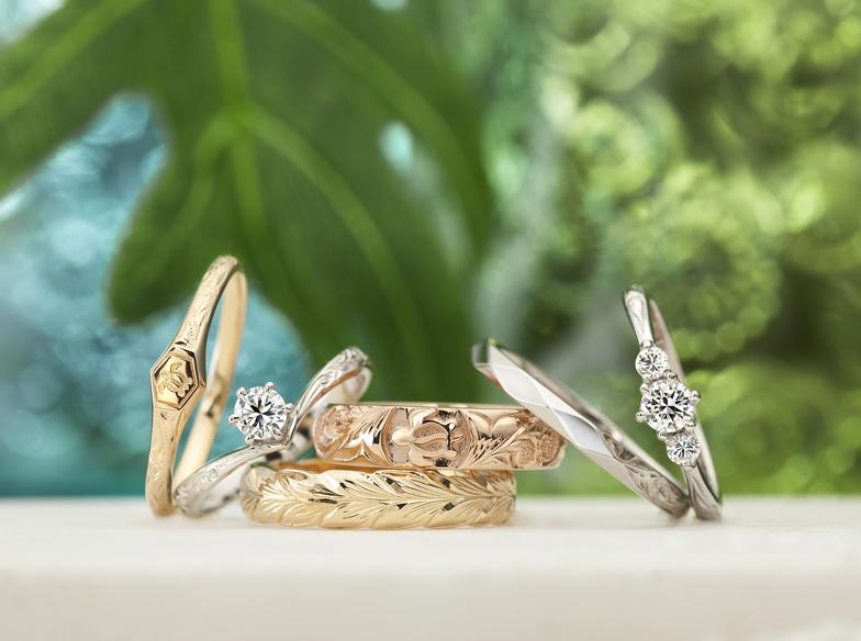 【静岡・浜松】?Hawaiian jewelry?の結婚指輪をお探しなら!