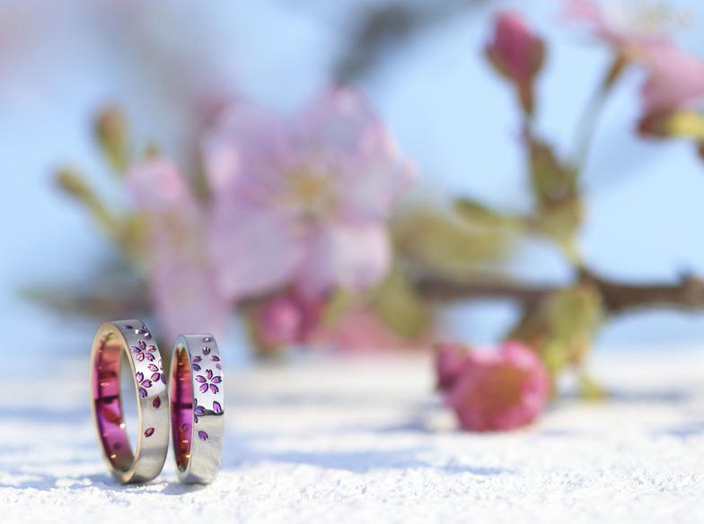 アレルギーフリーの結婚指輪【SORA-ソラ】金属アレルギーの方も諦めるのはまだ早い!個性的なデザインが選べる♡【静岡市】
