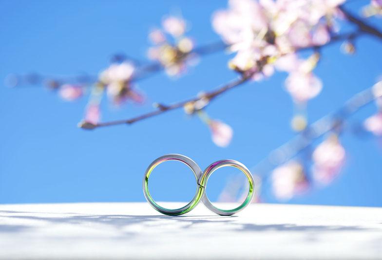 【浜松市】今大注目を浴びているカラフルでお洒落な結婚指輪SORA(ソラ)