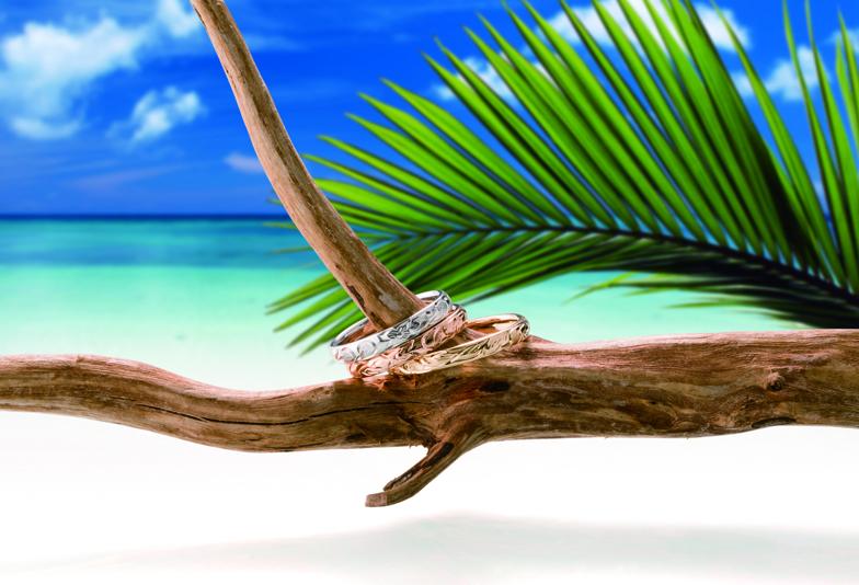 富士市で見つかる素敵なハワイアンジュエリーの結婚指輪のヒミツ♡