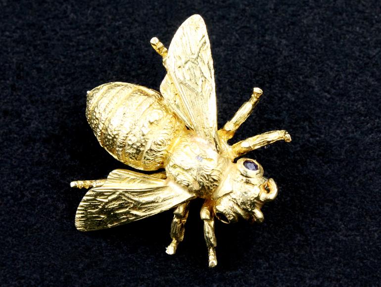 金の繊細な細工はアンティークジュエリーの醍醐味!静岡市宝石店