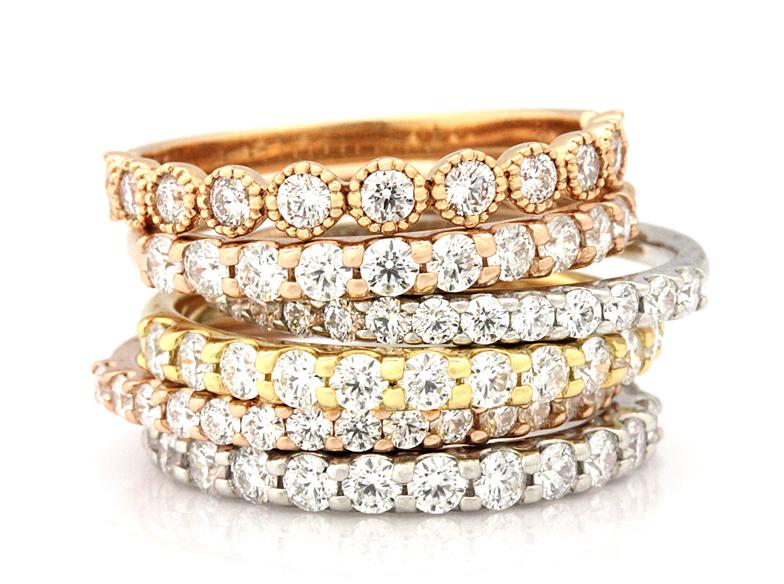【静岡】ダイヤモンドの輝きが魅力♡エタニティリング