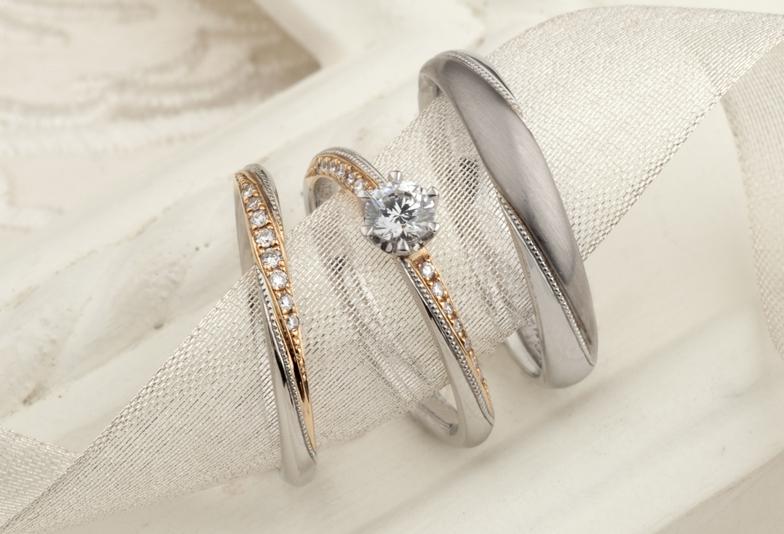 """【静岡市】今女性に人気のアンティークブランド""""LoveBond""""の結婚指輪(マリッジリング)・婚約指輪(エンゲージリング)♡"""