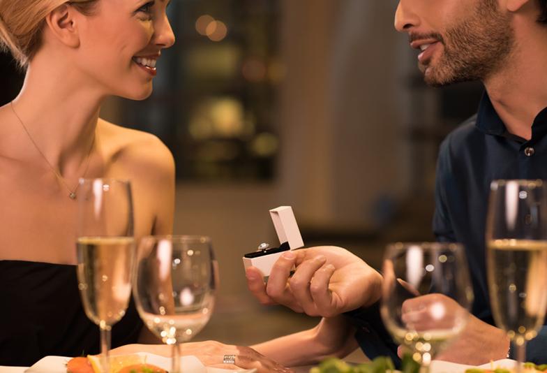 静岡男子へ!プロポーズの時に婚約指輪を💍✨️