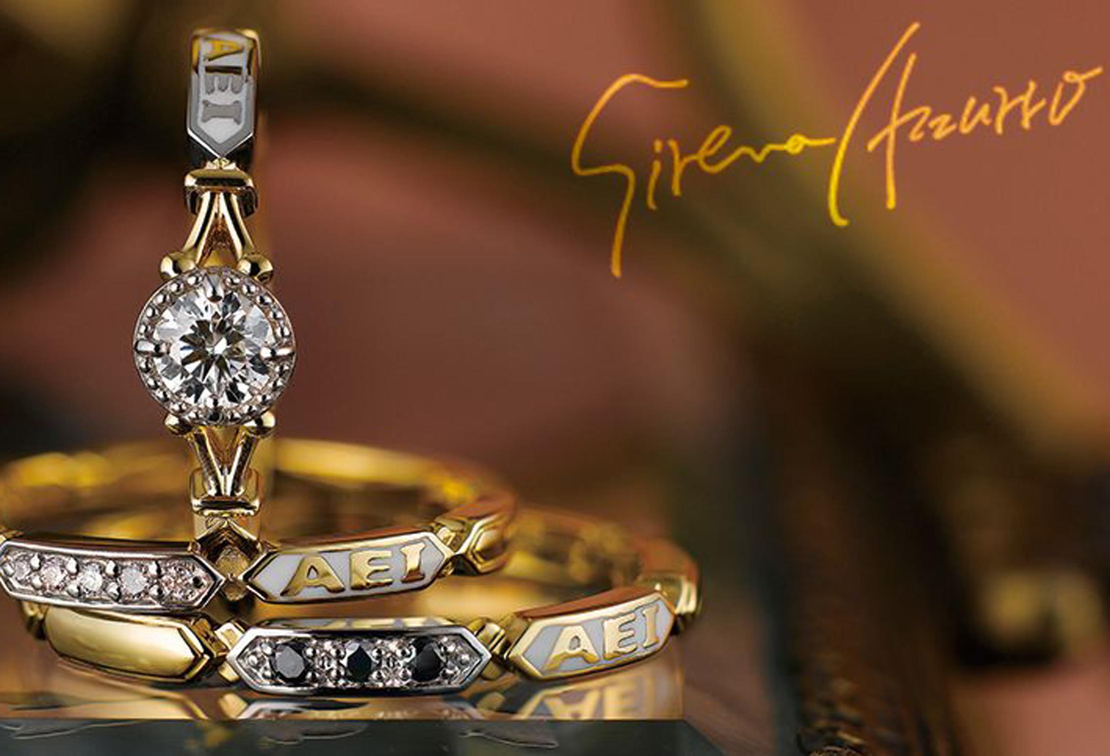 静岡 おしゃれな結婚指輪-Sirena Azzurro(セイレーンアズーロ)-