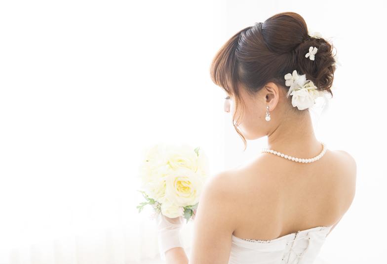 【静岡プレ花嫁】ウエディングドレスにはナチュラルパール(真珠)がオススメ♡