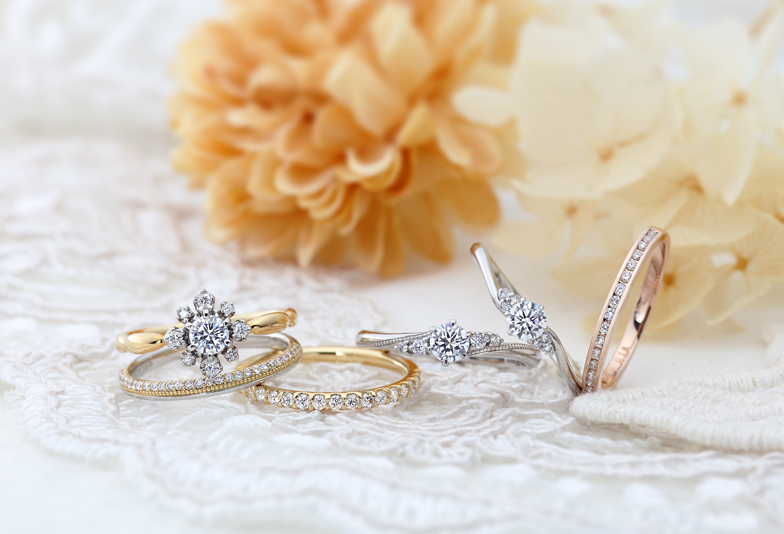 静岡市にあるブライダルブランドVIVAGE-ヴィヴァ-ジュの婚約指輪で素晴らしい人生のスタート♡
