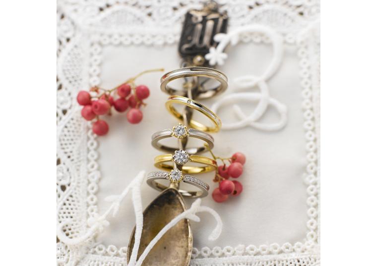 婚約指輪・結婚指輪の神戸ブランド『セイレーンアズーロ』が静岡で人気❤
