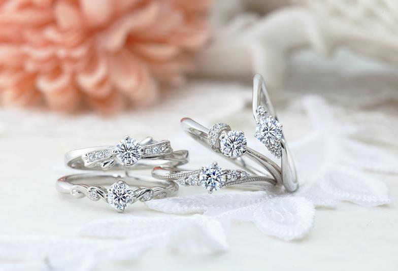 静岡市で探す!今、人気の婚約指輪のデザインって??