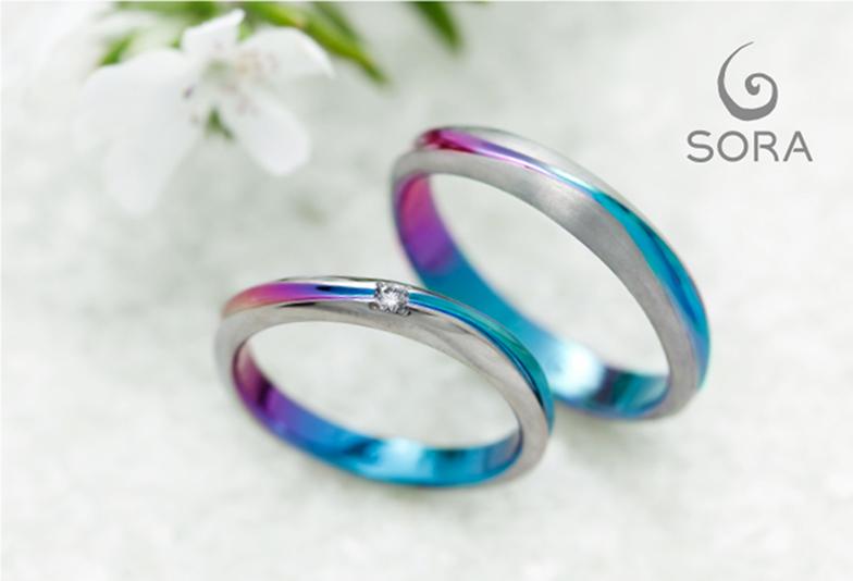 【浜松】自由な発想からつくるおふたりだけの個性が詰まった結婚指輪