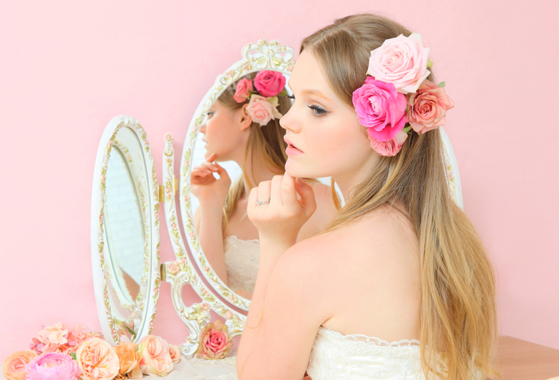 静岡市で探す♡大人可愛いがつまったピンクダイヤモンドの婚約指輪・結婚指輪