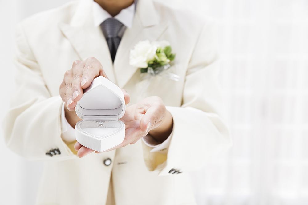 【静岡市】「彼女の喜ぶ顔が見たいから!」男性一人で婚約指輪探しのアドバイス♡