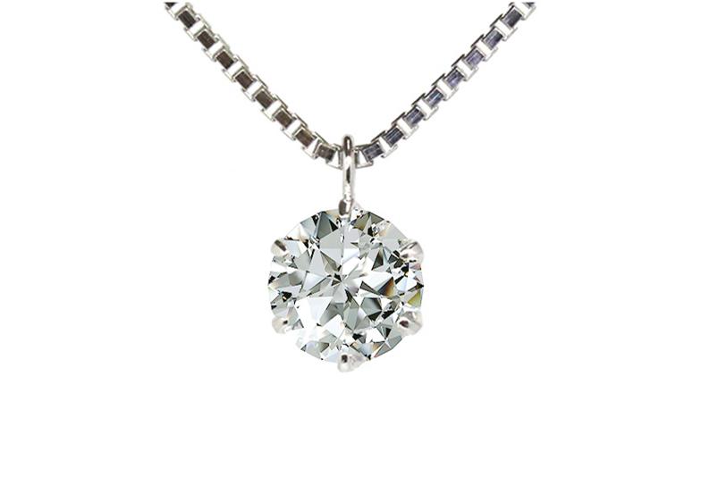 【福山市】普段使い?フォーマル使い?お勧めの一粒ダイヤモンドネックレスの選び方